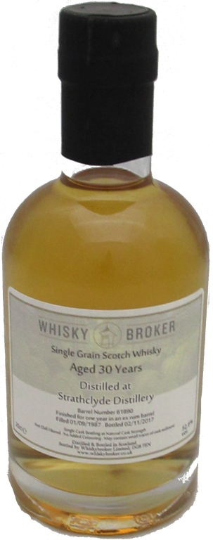 20cl, 30yo Distilled at Strathclyde