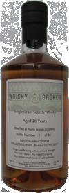70cl,26yo Distilled at North British