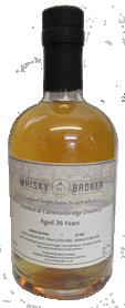 50cl, 36yo Distilled at Cameronbridge Distillery