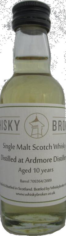 5cl, 10yo Distilled at Ardmore Distillery 709364