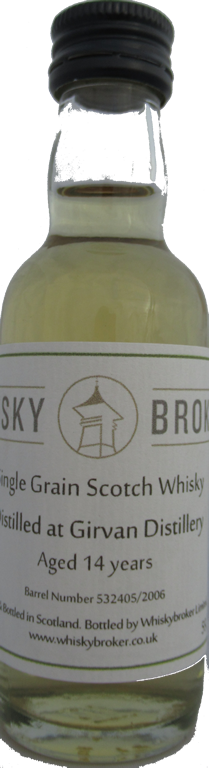 5cl, 14yo Distilled at Girvan Distillery
