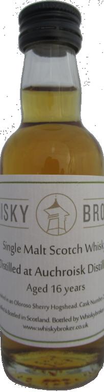 5cl, 16yo Distilled at Auchroisk Distillery