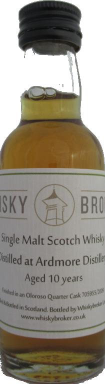 5cl, 10yo Distilled at Ardmore Distillery