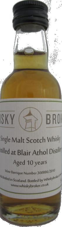 5cl, 10yo Distilled at Blair Athol Distillery