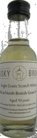 5cl, 10yo distilled at North British Distillery