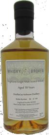 70cl, 18yo Distilled at Ardmore