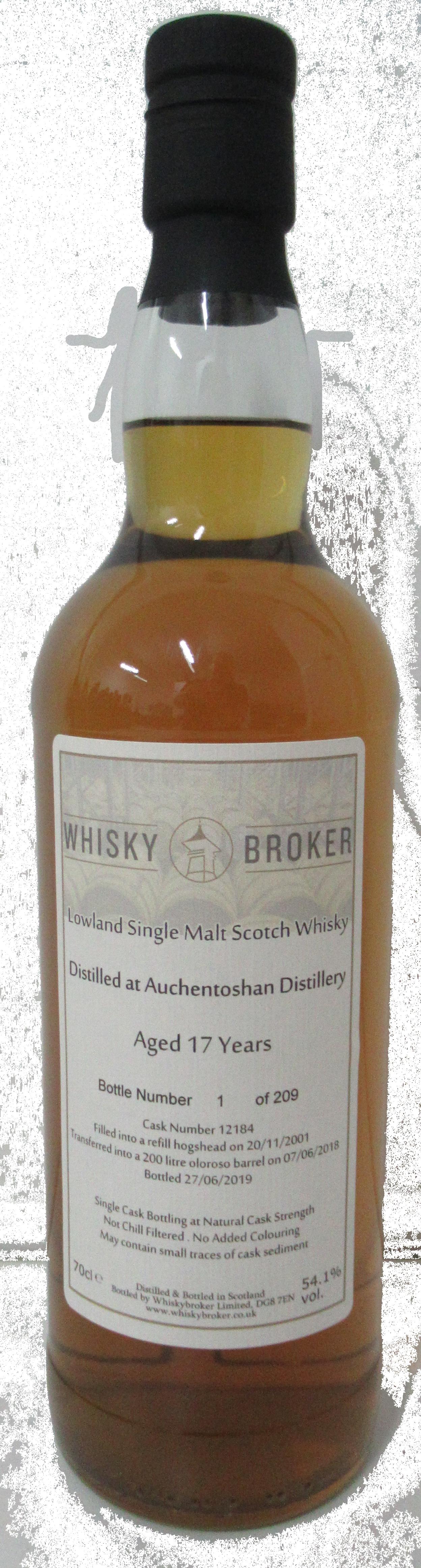 70cl, 17yo Distilled at Auchentoshan Distillery
