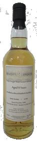 70cl, 9yo Distilled at Bruichladdich Distillery