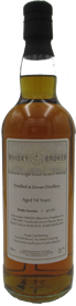 70cl, 14yo Distilled at Girvan Distillery