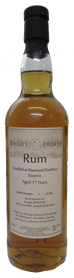 70cl, 17yo Guyana Rum Distilled at Diamond Distillery