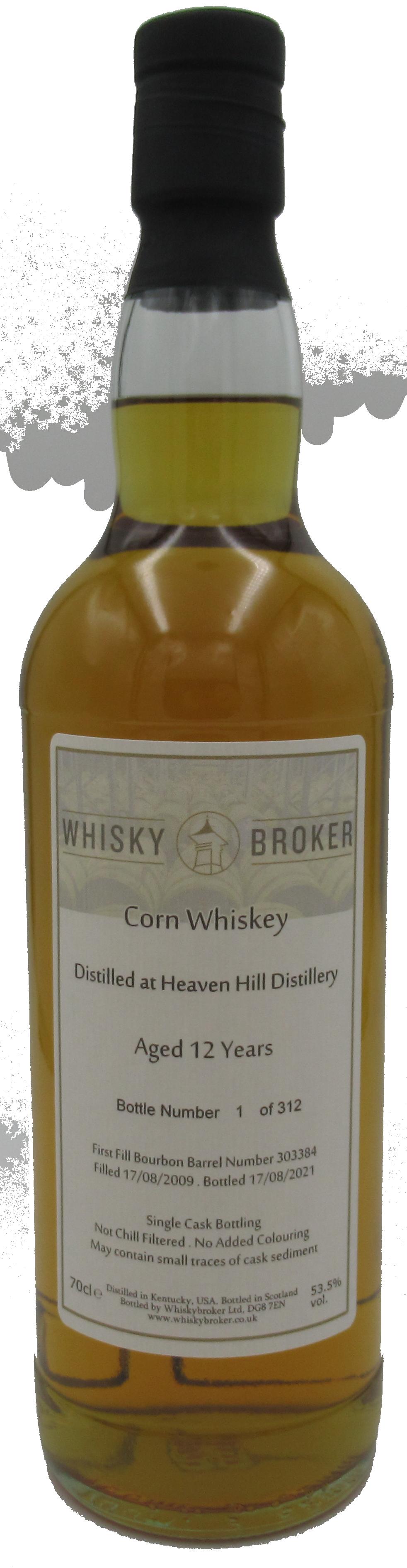 70cl, 12yo Distilled at Heaven Hill Distillery