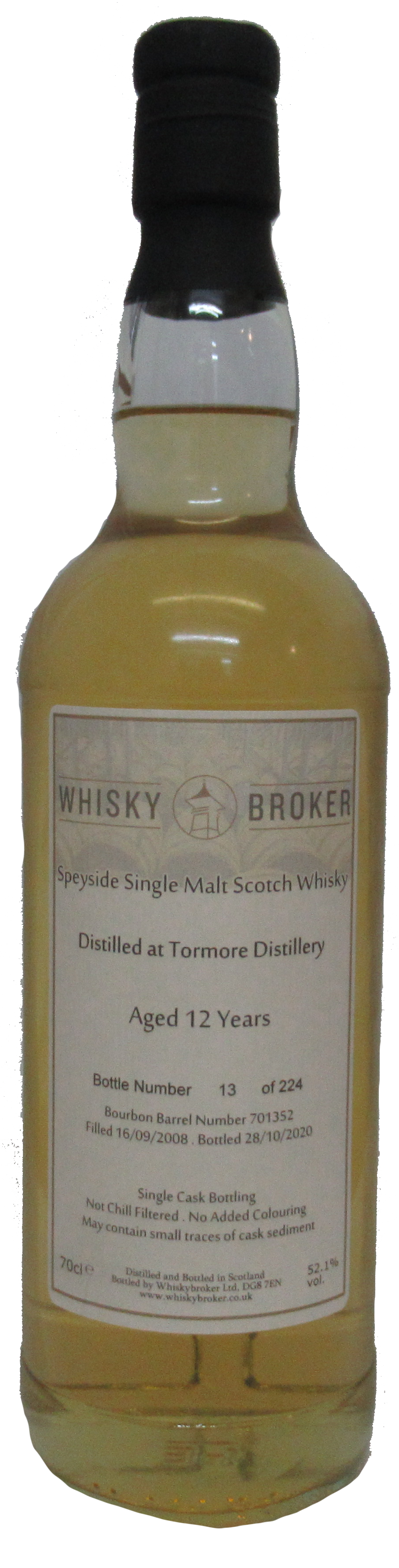 70cl, 12yo Distilled at Tormore Distillery