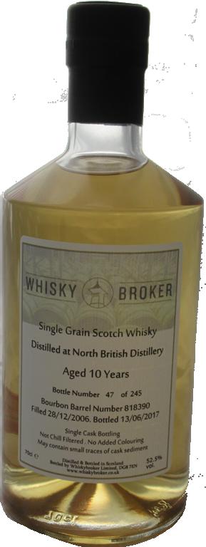 70cl, 10yo Distilled at North British