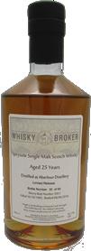 70cl, 25yo Distilled at Aberlour Distillery, 2nd release