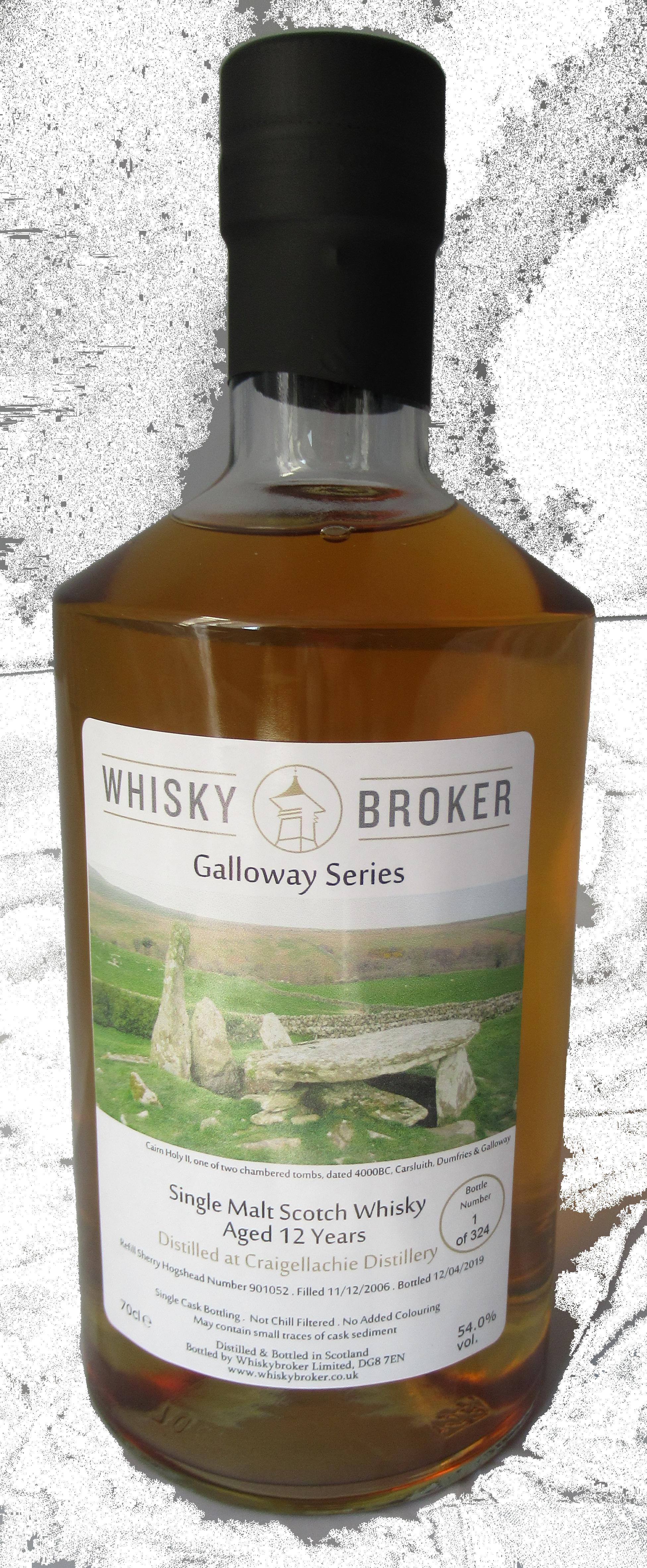 70cl, 12yo Distilled at Craigellachie Distillery