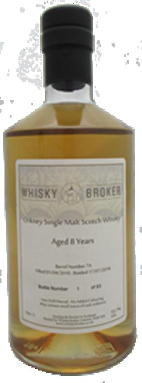 70cl, 8yo Orkney Single Malt Scotch Whisky