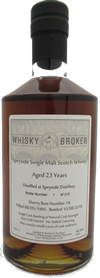 70cl, 23yo Distilled at Speyside Distillery