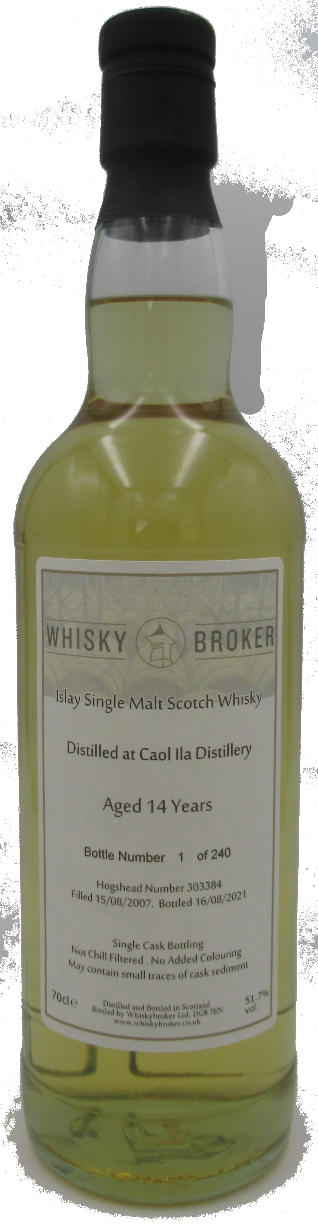 70cl, 14yo Distilled at Caol Ila Distillery, 303384