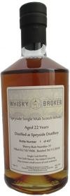 70cl, 22yo Distilled at Speyside Distillery